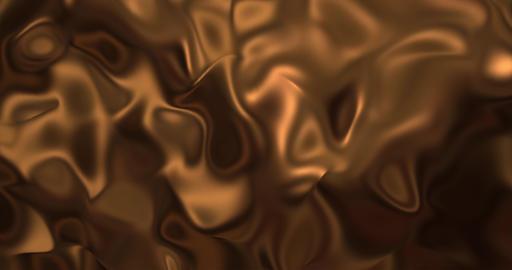 Liquid hot chocolate background. Melted dark chocolat texture 3D rendering loop Animation