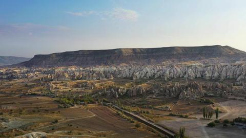 Aerial view of Cappadocia, Turkey Live Action