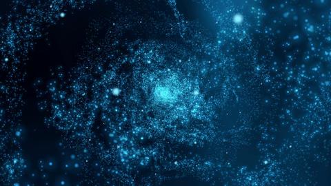 Spiralling Stars Animation