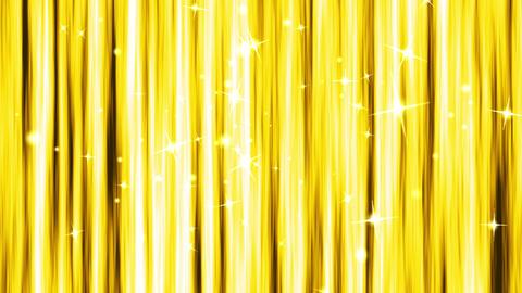 ゴールドのキラキラCG背景 CG動画