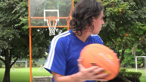 Basketball, Sports, Athletics Footage