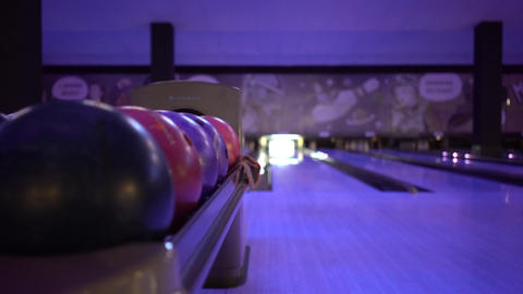Lunar Bowl At Bowling Alley Live Action