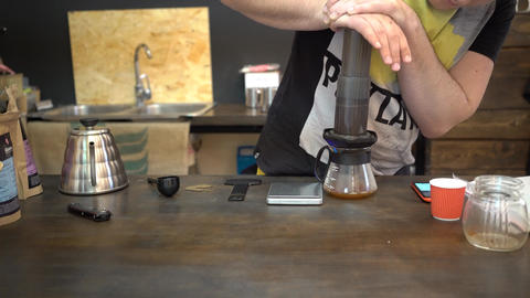 Chemex Coffee Brewing Footage