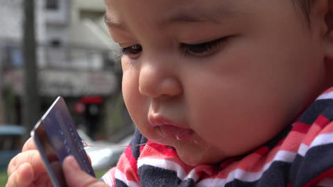 Baby With Credit Card, Infant, Newborn Live Action