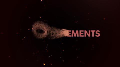 パーティクルやフレアを使った異次元オープニングアニメーション! After Effectsテンプレート