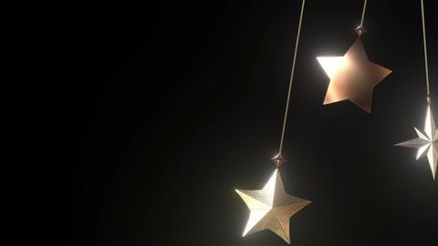 Swinging Star Ornaments Animation