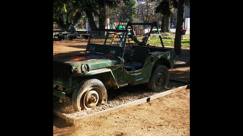 World War 2 Jeep Live Action