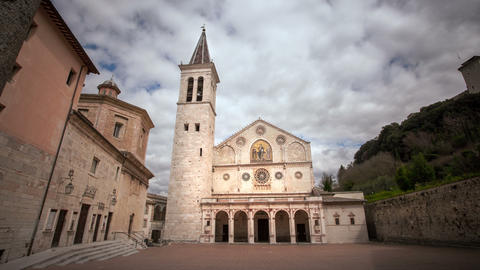 Spoleto Cathedral Live Action