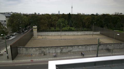 Berlin Wall Memorial Timelapse Live Action
