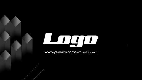 Logo Glitch Reveal Premiere Pro Template