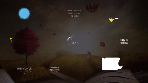 Fantasy Titles Collection Motion Graphics Template
