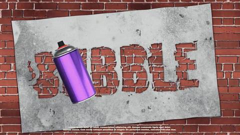 Graffiti Logo Premiere Pro Template