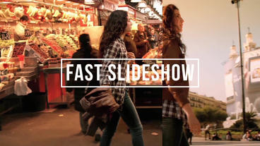 Fast Slideshow After Effects Project