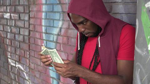 Paper Money, Bills, Currency, Dollars Footage
