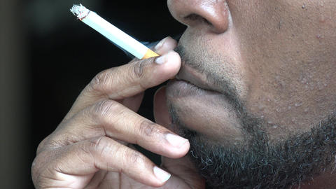 Smoker, Cigarettes, Nicotine, Tobacco Live Action