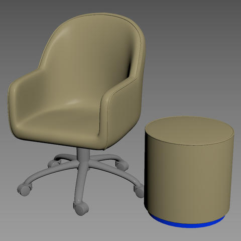 Bank Chair 3Dモデル