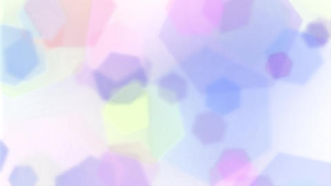 Mov202 hexagon effect loop 05 CG動画