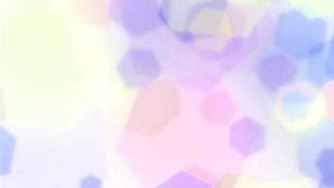Mov202 hexagon effect loop 05 動画素材, ムービー映像素材