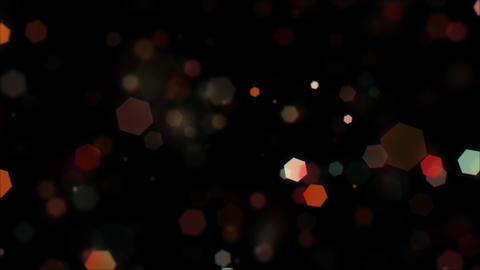 Mov203 particle hexagon glitter loop 01 動画素材, ムービー映像素材