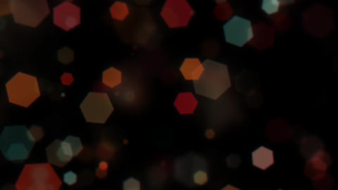 Mov203 Particle Hexagon Glitter Loop 0