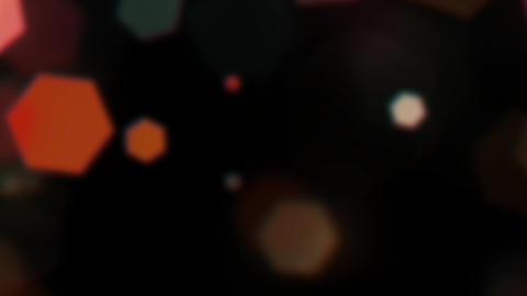 Mov203 particle hexagon glitter loop 05 CG動画