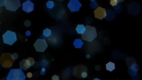 Mov203 particle hexagon glitter loop 07 CG動画
