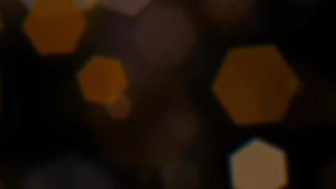 Mov203 particle hexagon glitter loop 10 CG動画