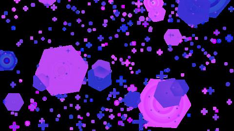 Mov201 glitter sparkle loop alpha 05 CG動画