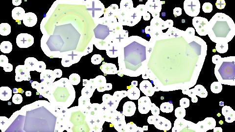 Mov201 glitter sparkle loop alpha 10 CG動画