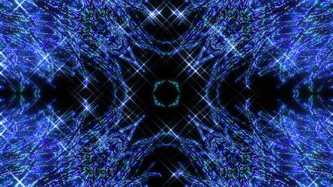 Kaleidoscope illumination neon light EE3 4k Videos animados