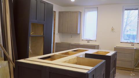 Modern kitchen interior Home Improvement Kitchen Remodel Live Action