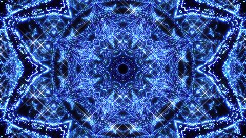 Kaleidoscope illumination neon light Aa3 4k Videos animados