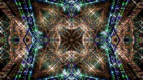 Kaleidoscope illumination neon light Dd2 4k Videos animados