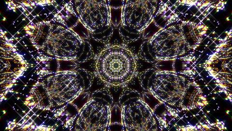 Kaleidoscope illumination neon light B1a 4k Animation