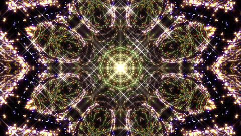 Kaleidoscope illumination neon light B2a 4k Animation