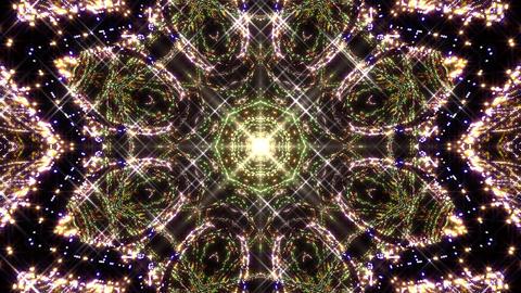 Kaleidoscope illumination neon light B2a 4k Videos animados