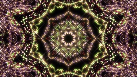 Kaleidoscope illumination neon light A2a 4k Videos animados