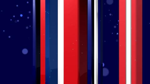 BLUE RED STRIP BACKGROUND CG動画