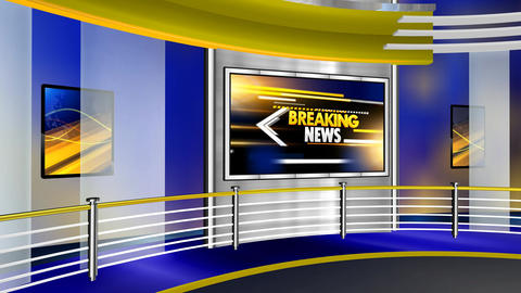 Breaking news curve studio Animation