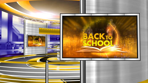Back to school red studio Animation