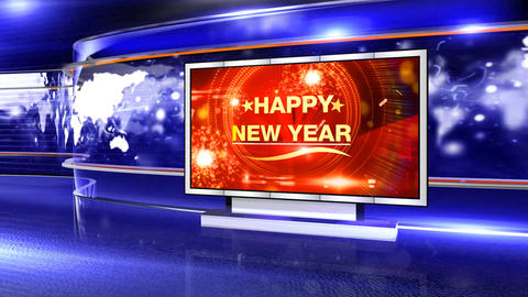 Happy news year curve studio Animation