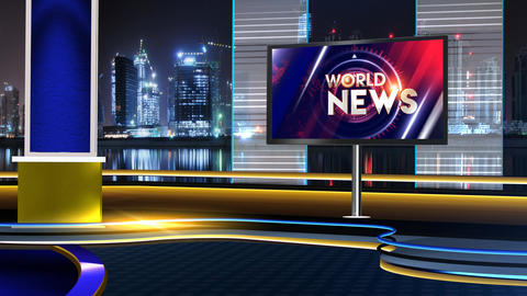 World news dark studio Animation