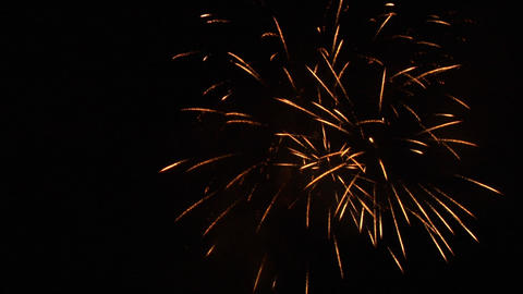 firework 02 Stock Video Footage