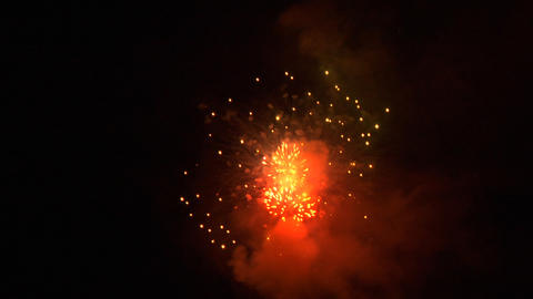firework 08 Stock Video Footage