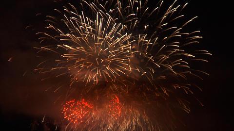 firework 13 Stock Video Footage