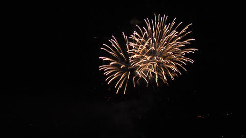 firework 21 Stock Video Footage