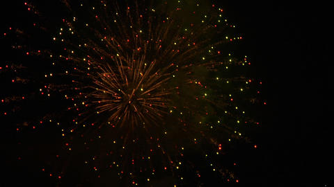 firework 25 Stock Video Footage