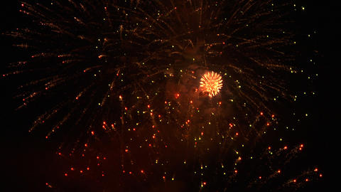 firework 25 Stock Video Footage
