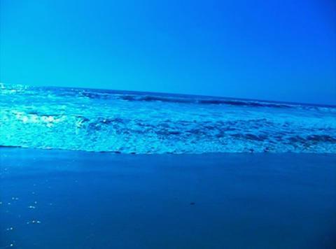 Ocean Waves 19 Waves crashing on beach Stock Video Footage
