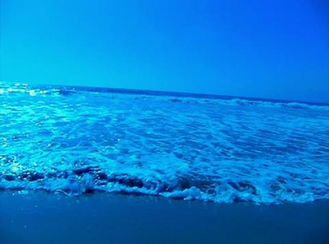 Ocean Waves 19 Waves crashing on beach Footage